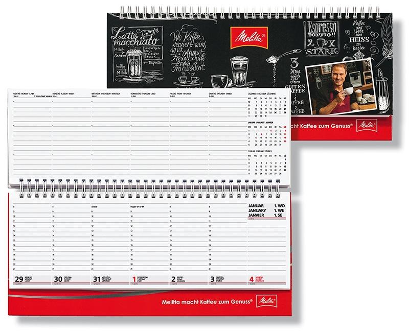 tisch querkalender