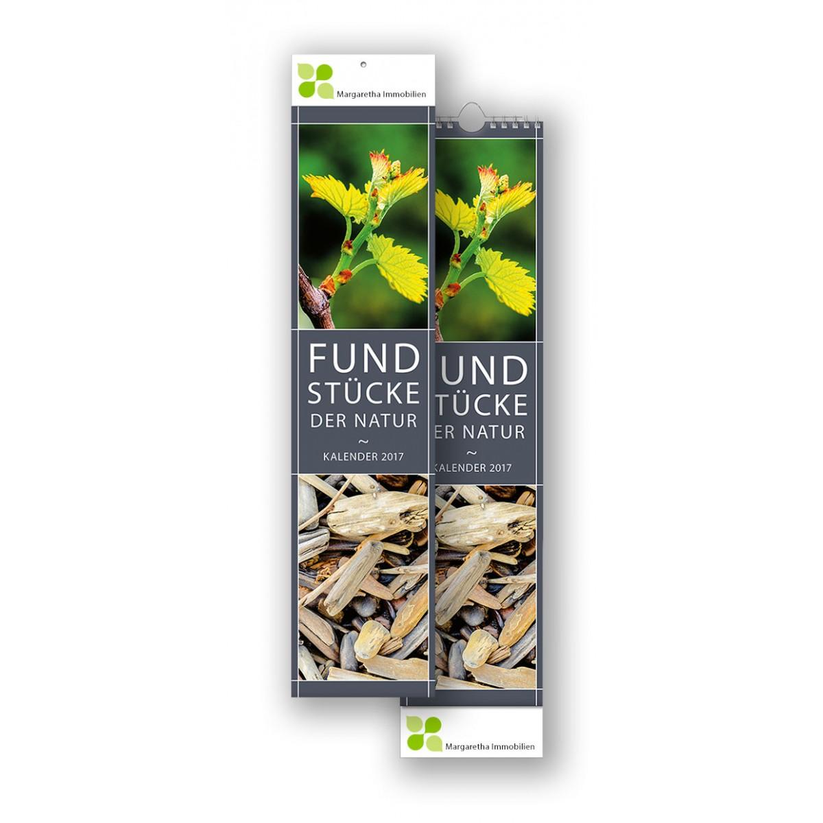 Bildkalender Modell Fundstücke der Natur Streifen