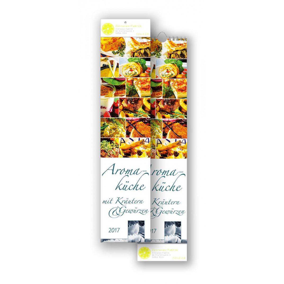 Bildkalender Modell Aromaküche Streifen
