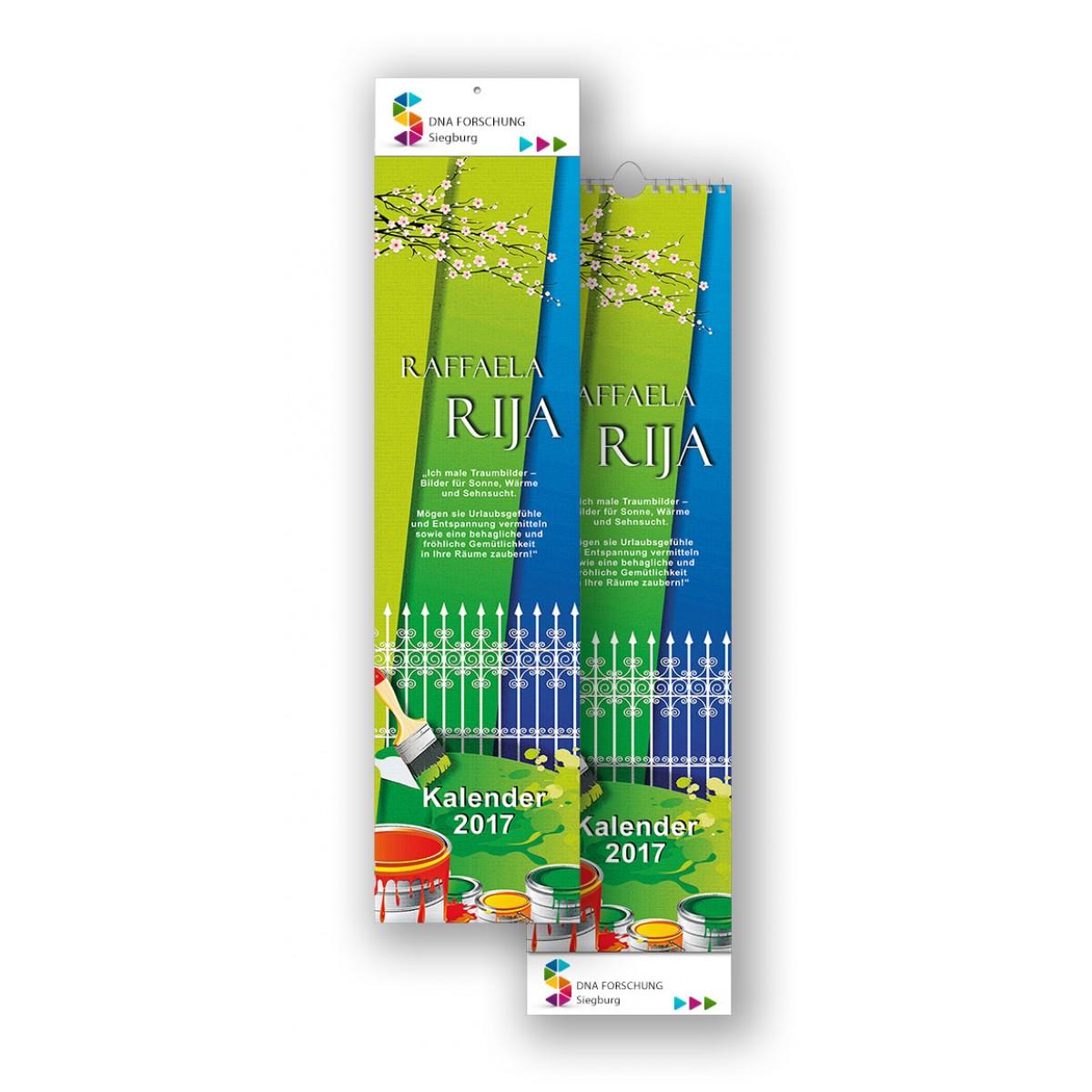 Bildkalender Modell Raffaela Rija Streifen
