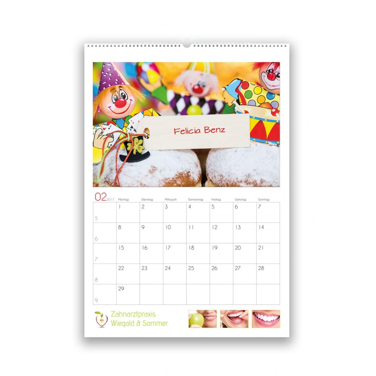 Bildkalender Modell PictureName Klassik