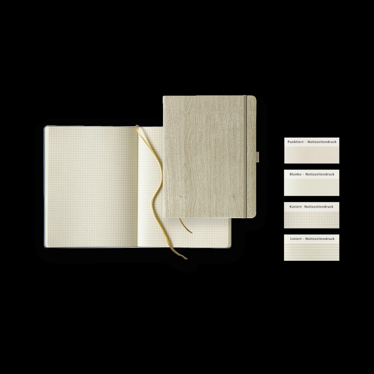 Notizbuch Modell Ivory Notebook Extra Large