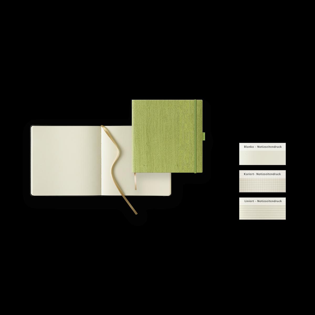 Notizbuch Modell Ivory Notebook Quadrat