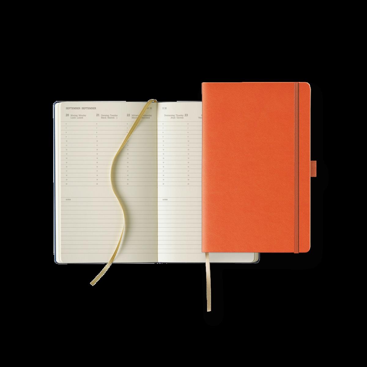 Buchkalender Modell Ivory Diary Week Large