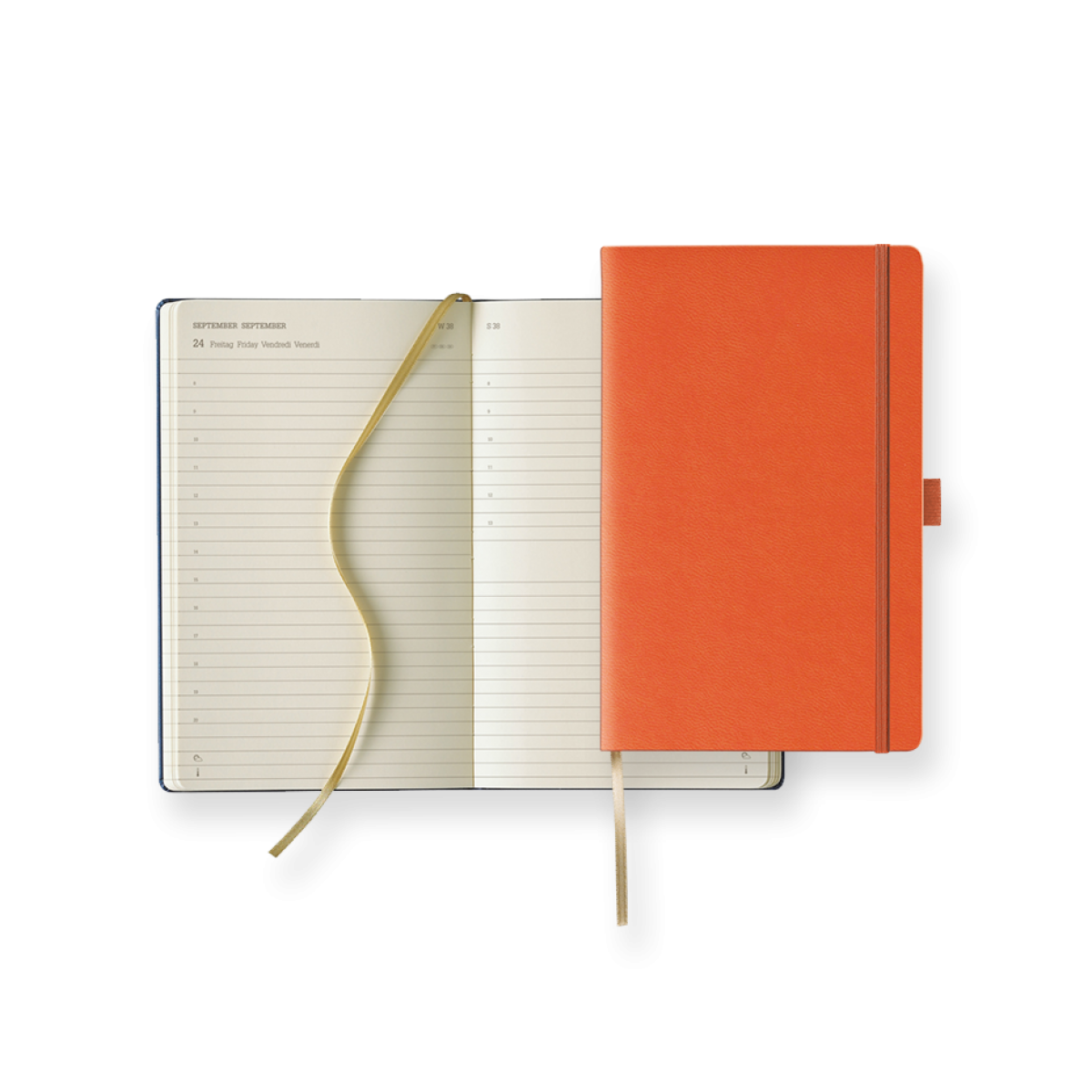 Buchkalender Modell Ivory Diary Day Large