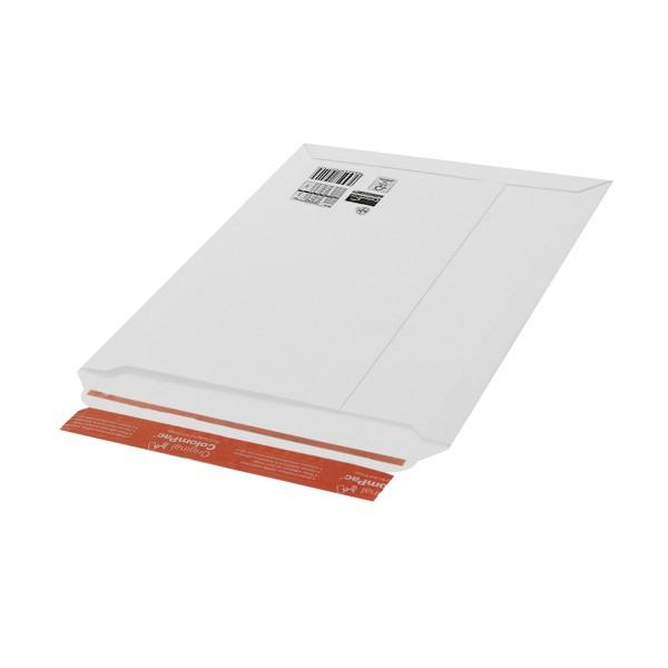 Einzelverpackung Wellpapp-Verpackung 220 x 167 x 18 mm weiß