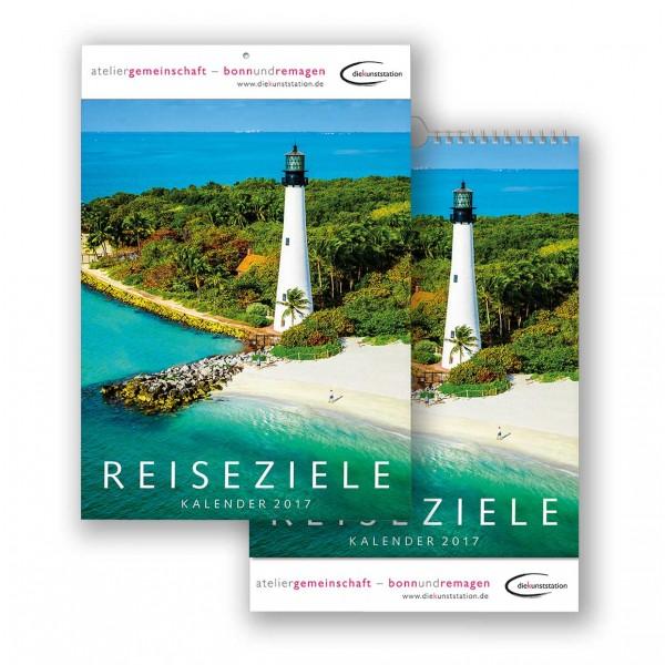 Bildkalender Modell Reiseziele