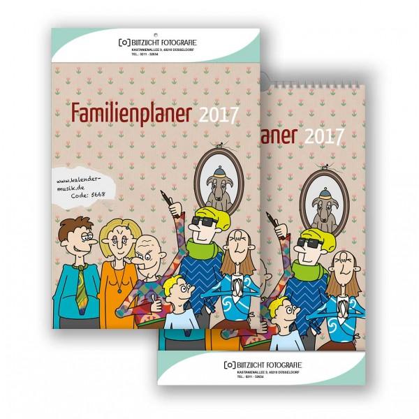 Bildkalender Modell Familienplaner