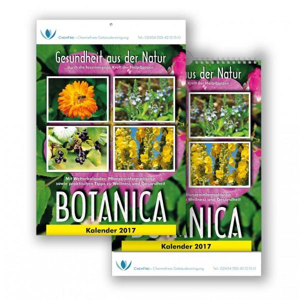 Bildkalender Modell Botanica