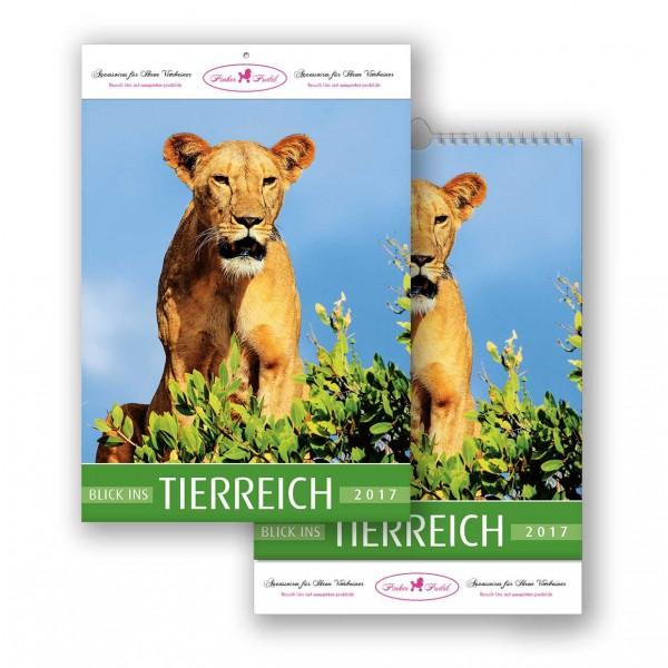 Bildkalender Modell Blick ins Tierreich