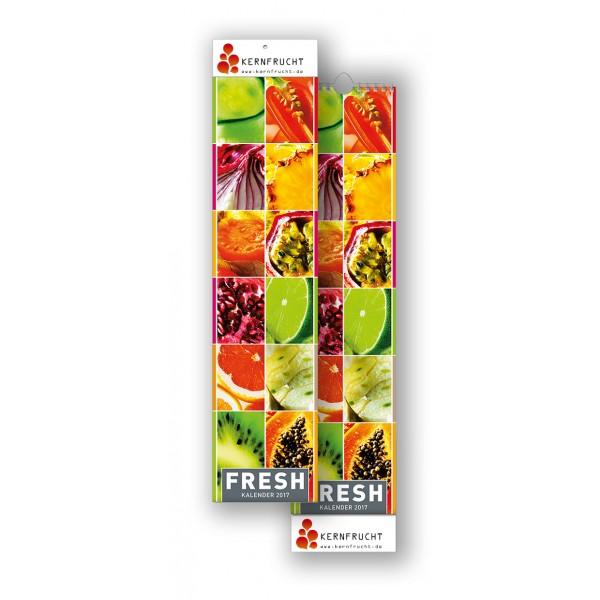 Bildkalender Modell Fresh Streifen