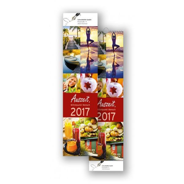Bildkalender Modell Auszeit Streifen