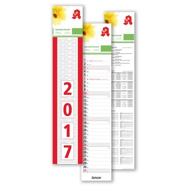 Streifenkalender Modell Main