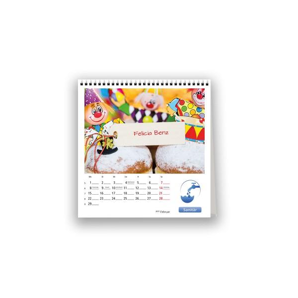 Bildkalender Modell PictureName Postcard
