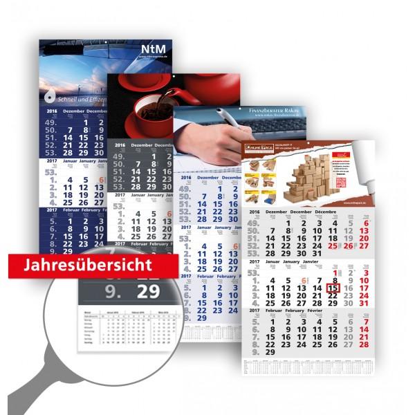 3 Monatsplaner Modell Berlin Trio Plan