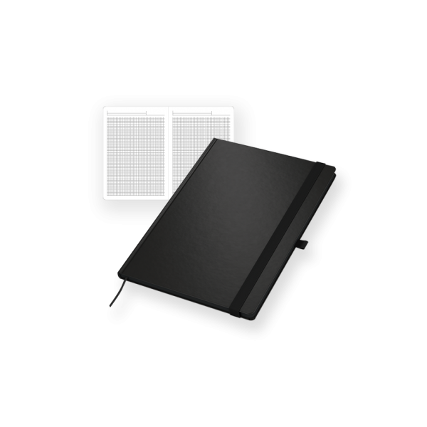 Notizbuch Modell Black-Book / White-Book