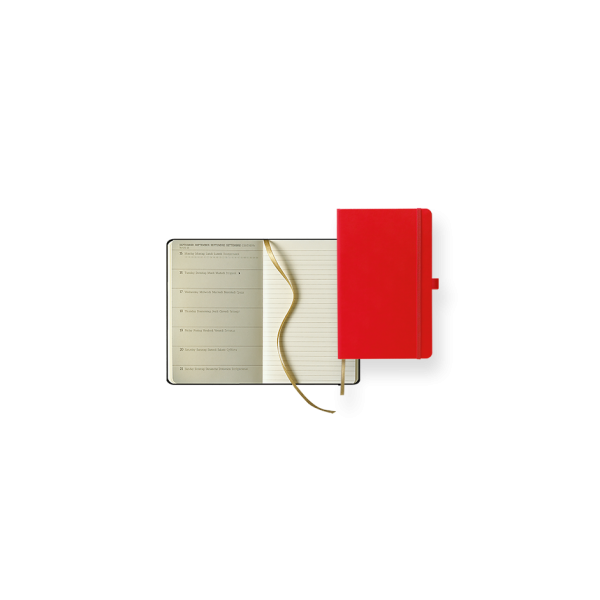 Dual-Timer Modell Ivory Diary Week Pocket