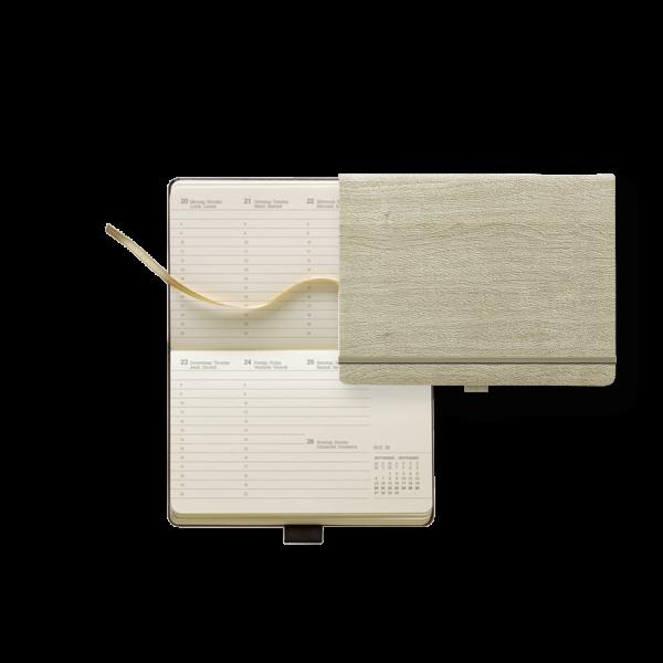Taschenkalender Modell Ivory Diary Week Pocket