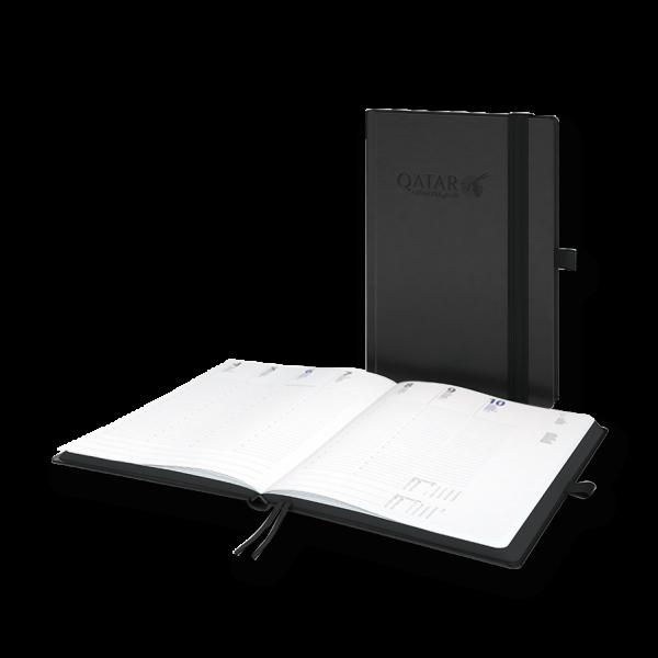 Terminkalender Modell Black-Hybrid / White-Hybrid