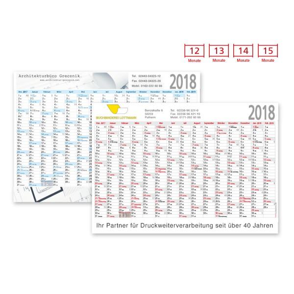 Plakatkalender Modell Alpen Plus