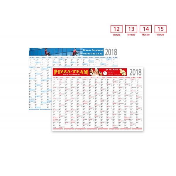 Plakatkalender Modell Eifel