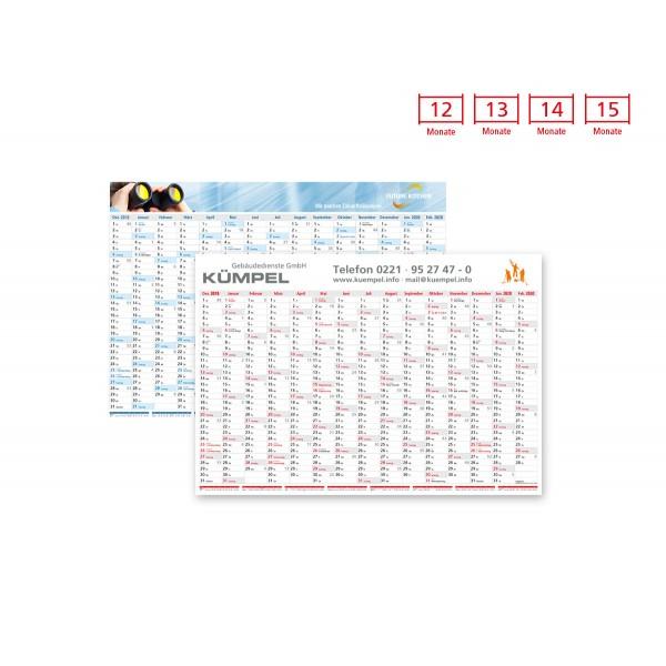 Plakatkalender Modell Eifel Wide