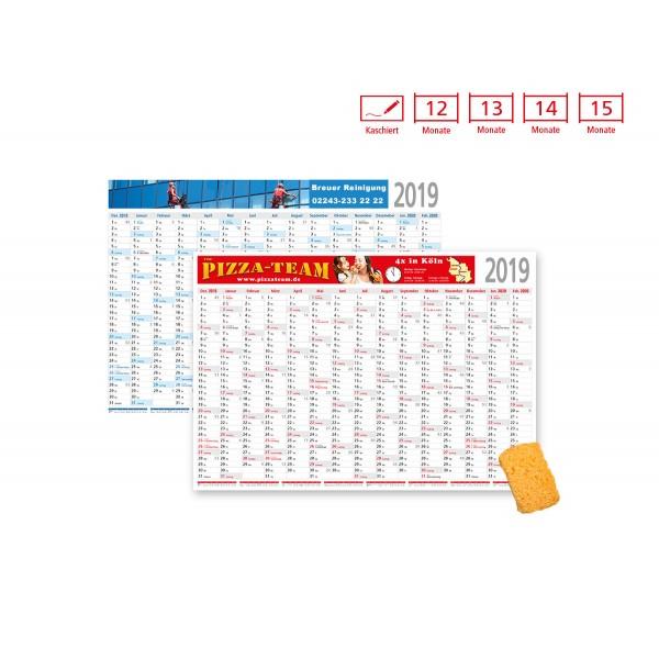 Plakatkalender Modell Eifel kaschiert