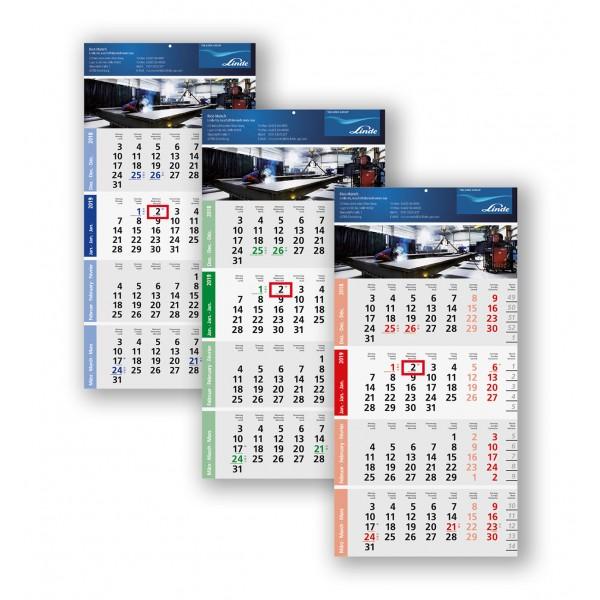 4 Monatsplaner Modell Logic Vier A
