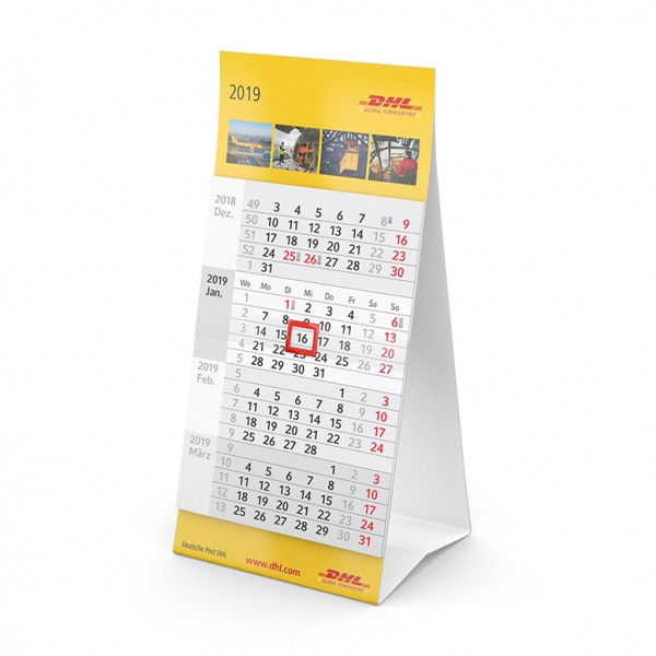 Tischkalender Modell Mini Vier